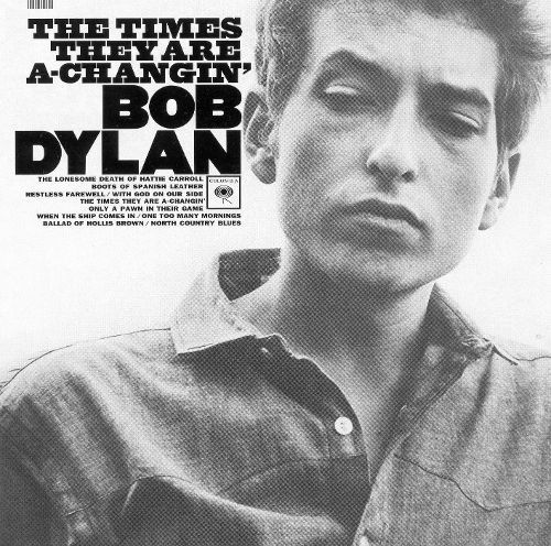 The Times They Are A Changin Cd Bob Dylan Pinterest Lp