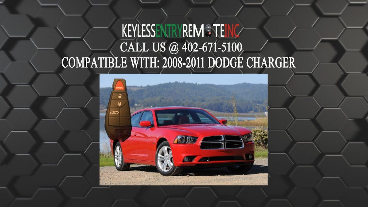 How To Replace A Dodge Charger Key Fob Battery 2008 2012 2013 Dodge Charger Dodge Charger Key Fob