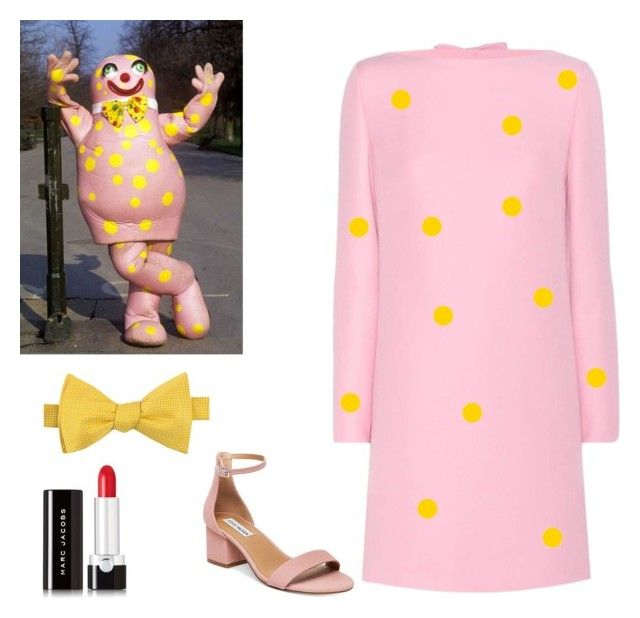 """Mr Blobby"" by sassyladies ❤ liked on Polyvore featuring Valentino, Tommy Hilfiger, Steve Madden and Marc Jacobs"