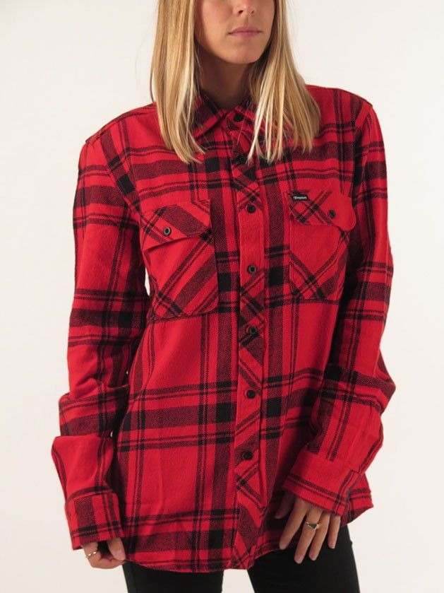 Bowery Long Sleeve Buttondown Shirt for women by Brixton  955830745