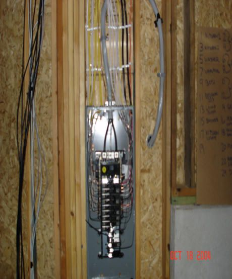 Electrical Panel Installation Picture Home Electrical Wiring Electrical Panel Electrical Wiring