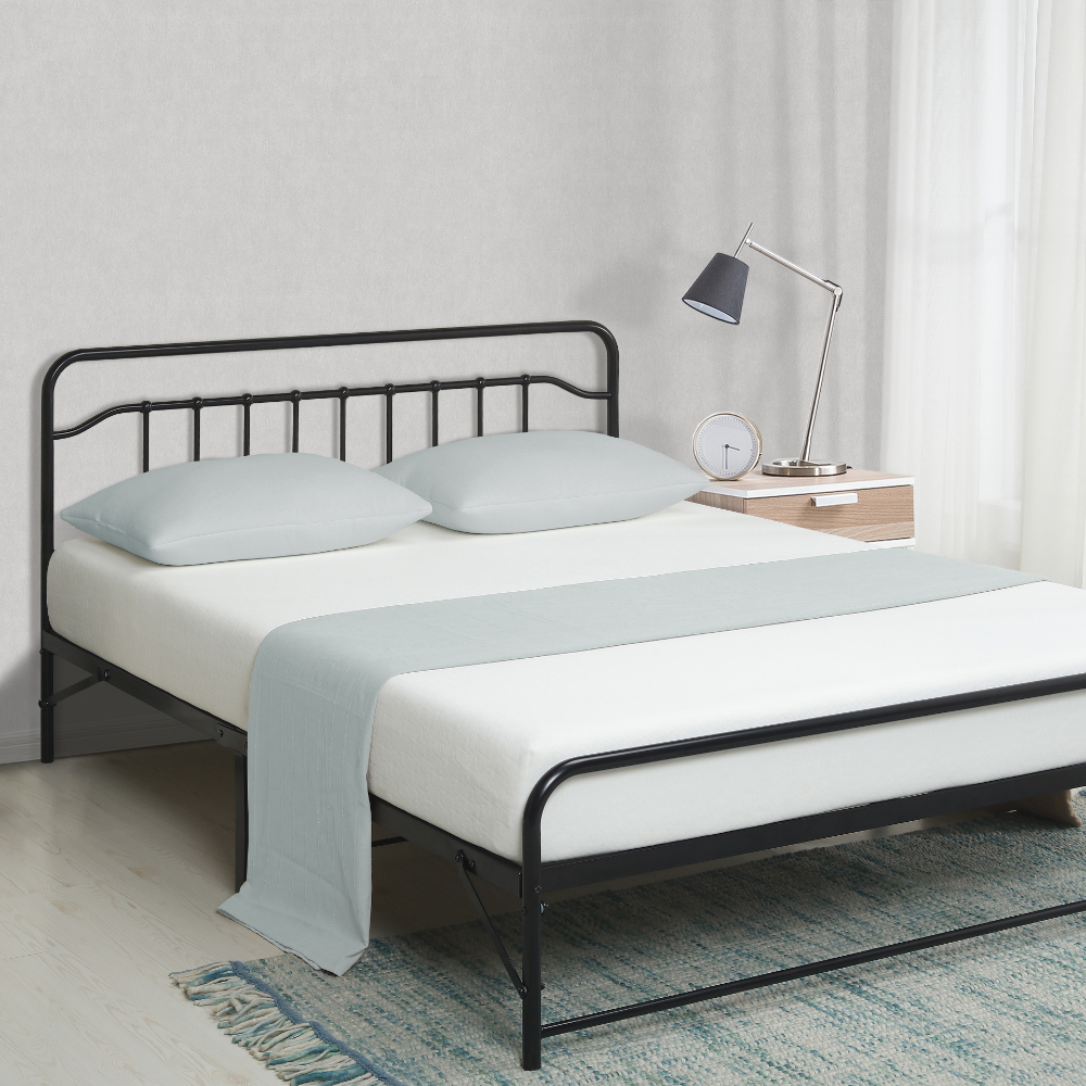 Home in 2020 Metal platform bed, Bed frame, Bed frame sizes