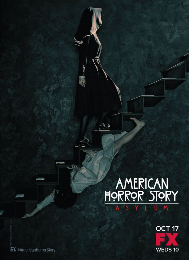 New Teaser Posters For American Horror Story Asylum American Horror Story Seasons American Horror Story Asylum American Horror