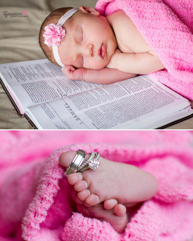 Newborn photos tiffany weaver photography bible bible verse