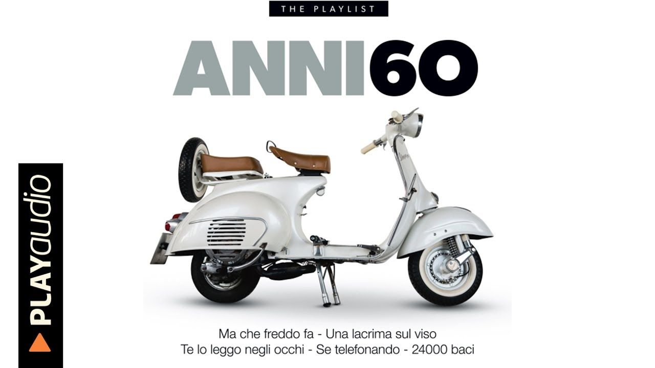 Musica Italiana Anni 60 Hits PLAYaudio Canzoni Anni '60