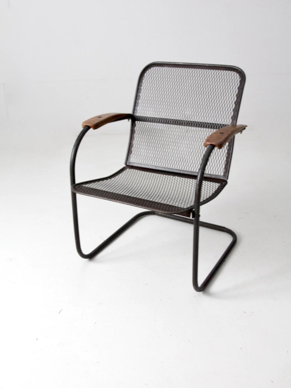 Download Wallpaper Vintage Expanded Metal Patio Furniture