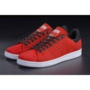 hot sale online c1c37 ded36 Adidas Originals Stan Smith Flyknit red Black white | Tennis ...
