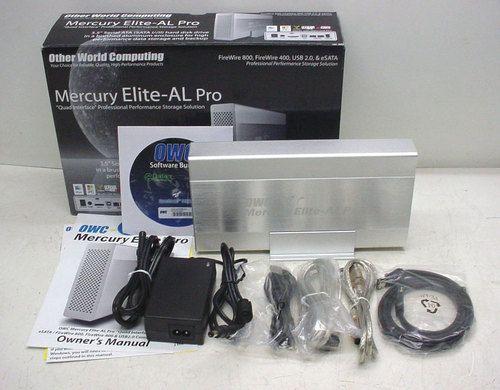 OWC Mercury Elite Al Pro Quad Interface eSATA Firewire USB External Drive 500 GB | eBay