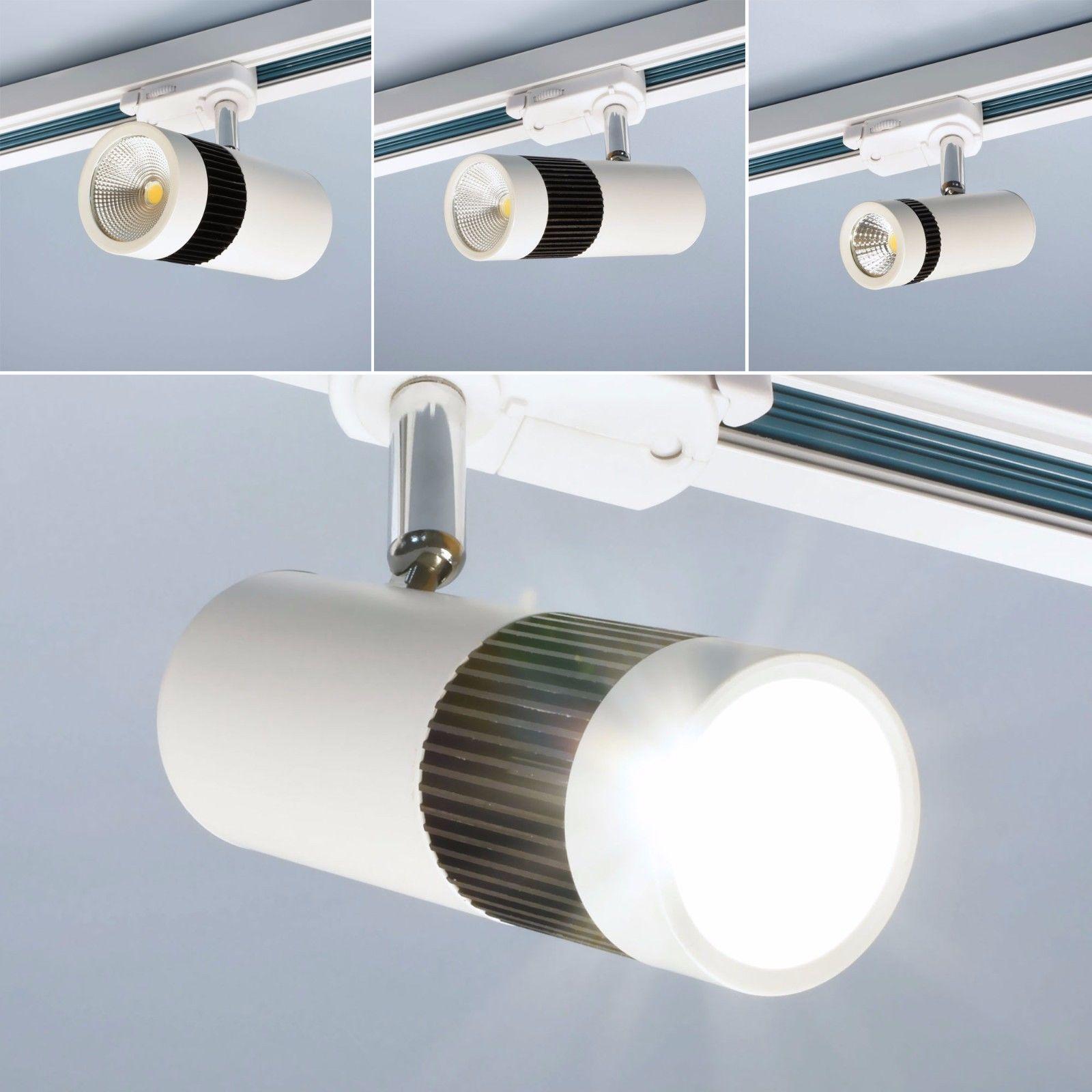 Led Schienensystem Burolicht Spot Strahler Deckenleuchte Tracklight Deckenlampe Ebay Led Schienensystem Deckenlampe Und Lampen