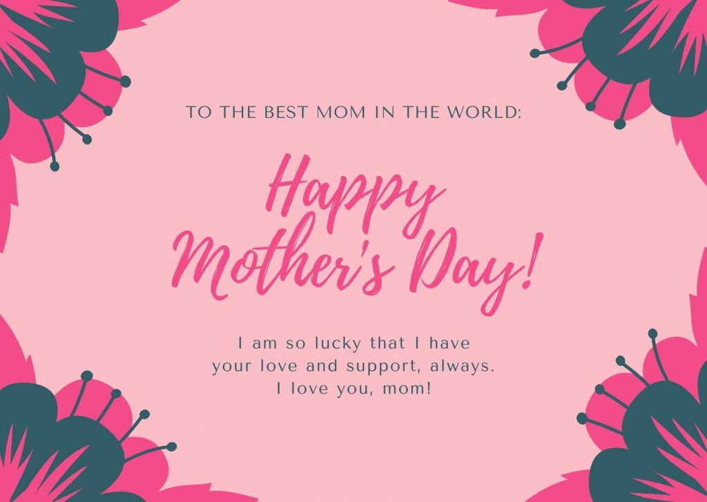 Happy Mothers Day 2020 Wishes in 2020 Happy mothers day