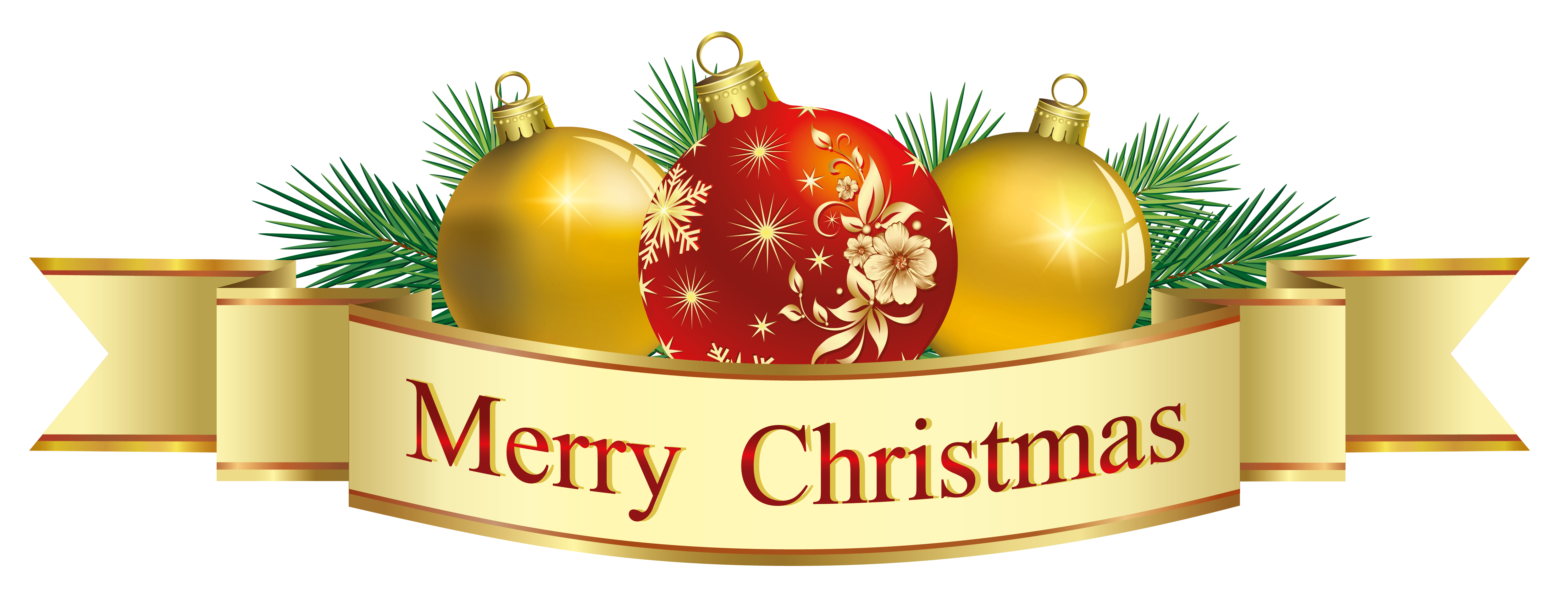 Transparent Merry Christmas Deco Clipart Imagenes de