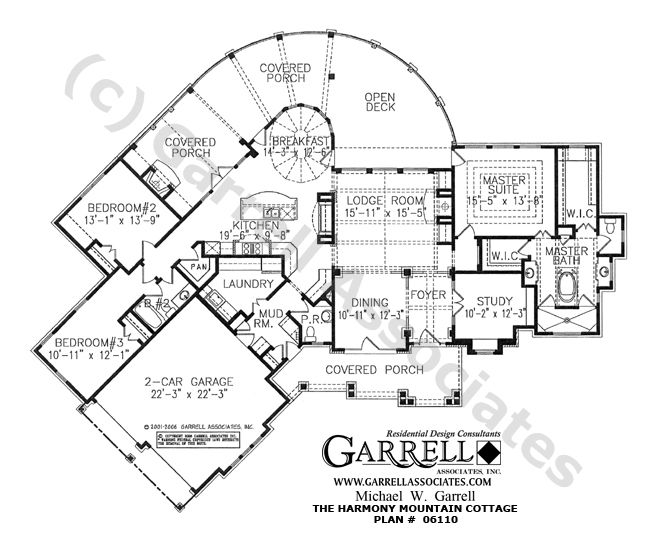 Harmony Mountain Cottage House Plan 06110 Floor Plan Craftsman Style House Plans Mountain Style Ho How To Plan Cottage House Plans Ranch Style House Plans