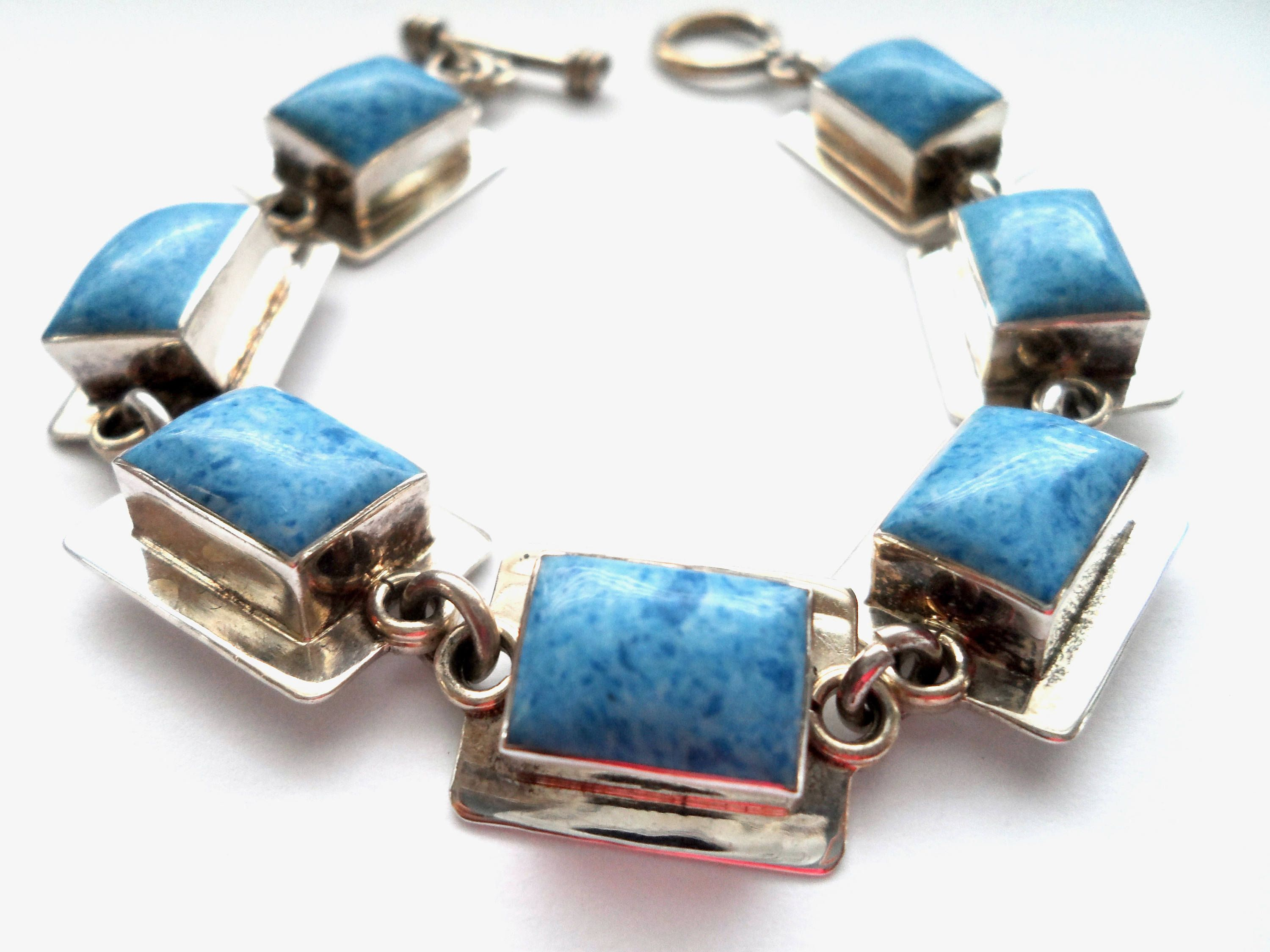 products blue stone image the art of stormie day bracelet end