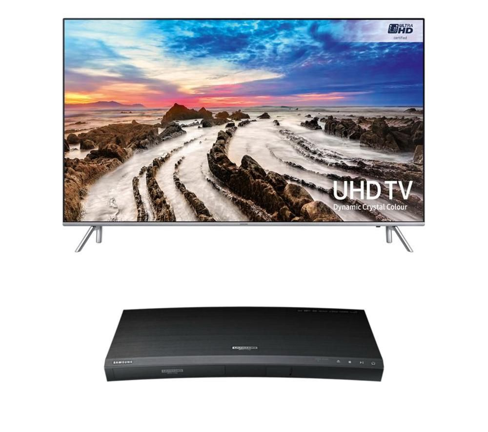 SAMSUNG UE75MU7000T Smart TV & Blu-ray Player Bundle on sale in the ...