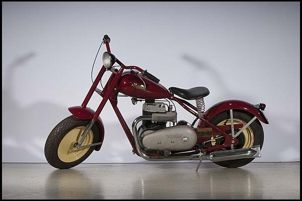 1950s Mustang Pony Mecum Auctions Scooter Bike Mustang Mini Bike