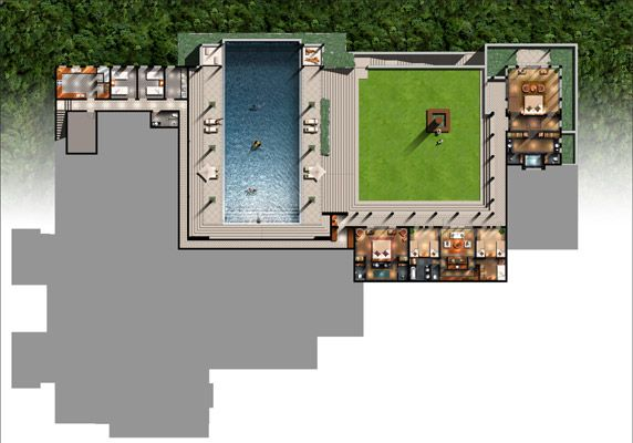 Resort plan 9 p1 drawings plans pinterest resorts for Plans d arkitek