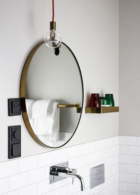 Scandinavia trip | • O B J E C T • | Badezimmer, Runde spiegel und ...