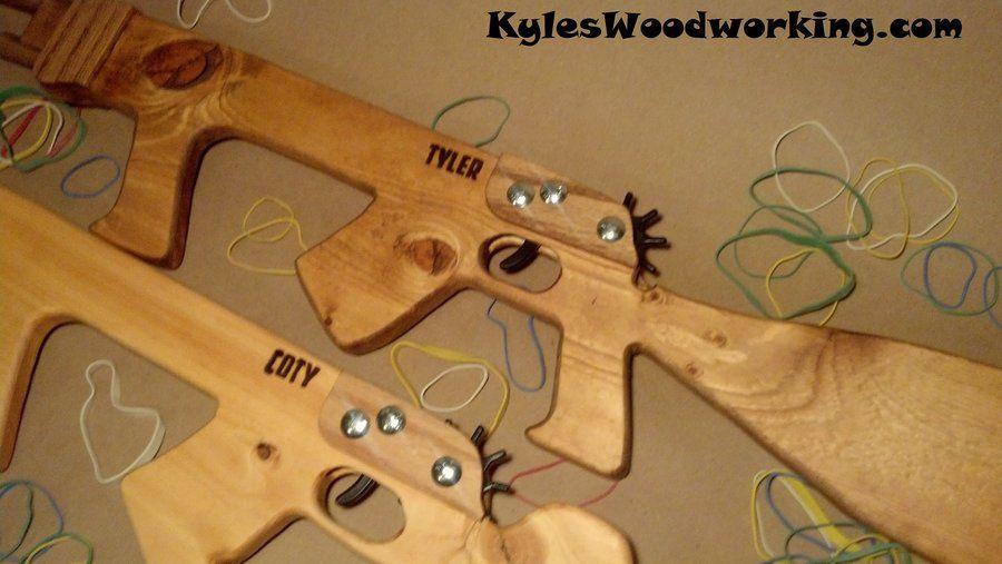 Pin on Rubberband gun