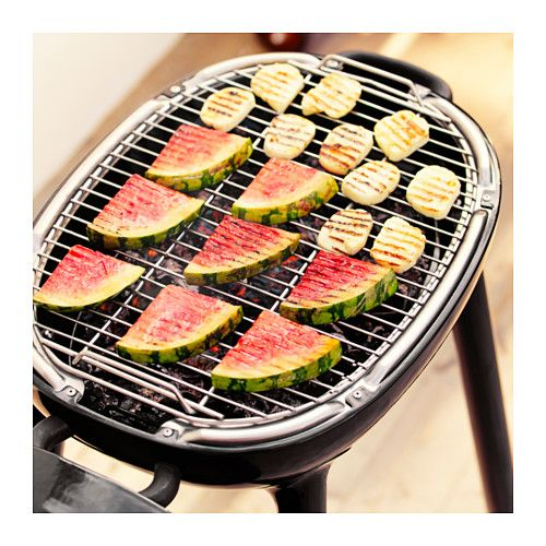 Us Furniture And Home Furnishings Charcoal Grill Grilled