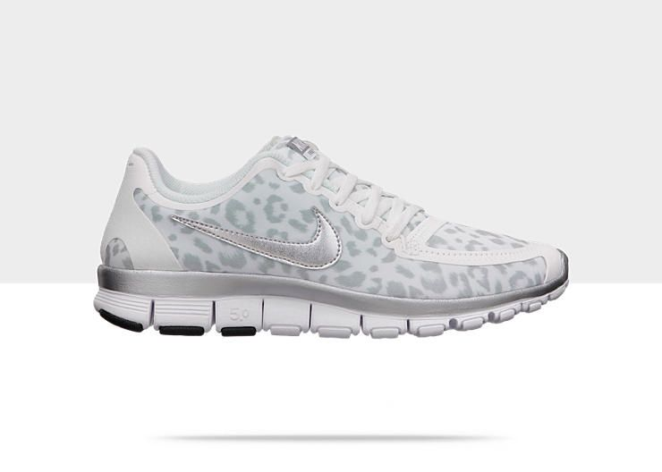 newest 7e7d3 7c1dc Nike Free 5.0 V4 Women s Shoe in Leopard print.