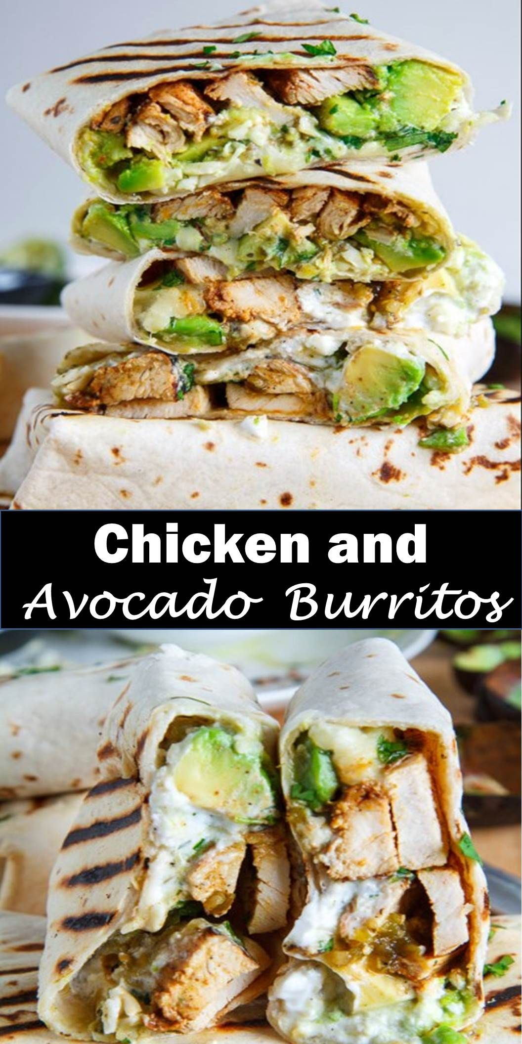 #Best #Food #Chicken #and #Avocado #Burritos Delicious and healthy family choice special food and drink Chicken and Avocado Burritos Burritos stuffed with juicy chicken, cool and creamy avocado, oozy gooey melted cheese, spicy salsa verde and sour cream! Today I have some tasty chicken and avocado burritos for you! They are so easy to make, you simply wrap the chicken, avocado, cheese, salsa verde, sour cream and cilantro up in a tortilla, grill it and enjoy! #Best #Vegan #Recipes! #BestVega #healthyavocadorecipes