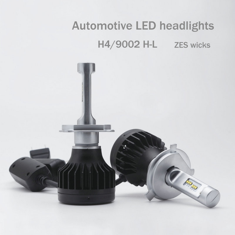 42 17 Know More 2016 Rushed External Lights New Design H4 Led Headlight Cars High 70w Low 48w Beam Light Kit Lamp Car Styling Bulbs For
