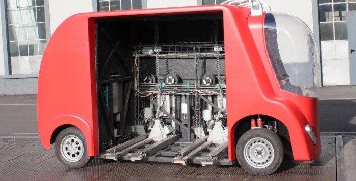 Barreiro apresenta FURBOT, o veículo amientalmente sustentável e de baixos custos
