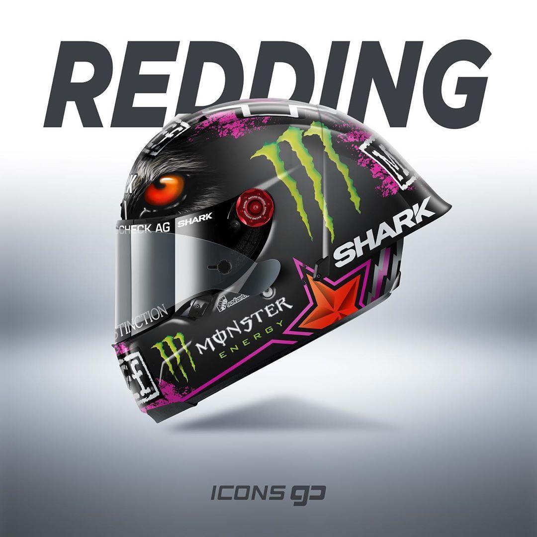 Icons Gp On Instagram S Redding Reddingpower Shark Race R Pro Gp By Shark Helmets Design By Sakartdesign Date 2020 Worldchampionship World Super B