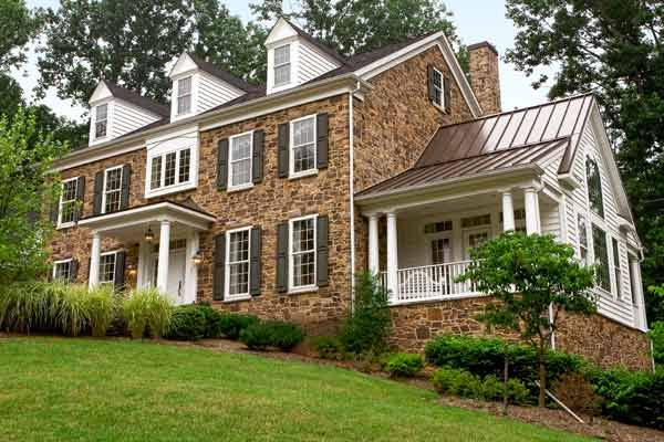 All About Stone Veneer #sideporch
