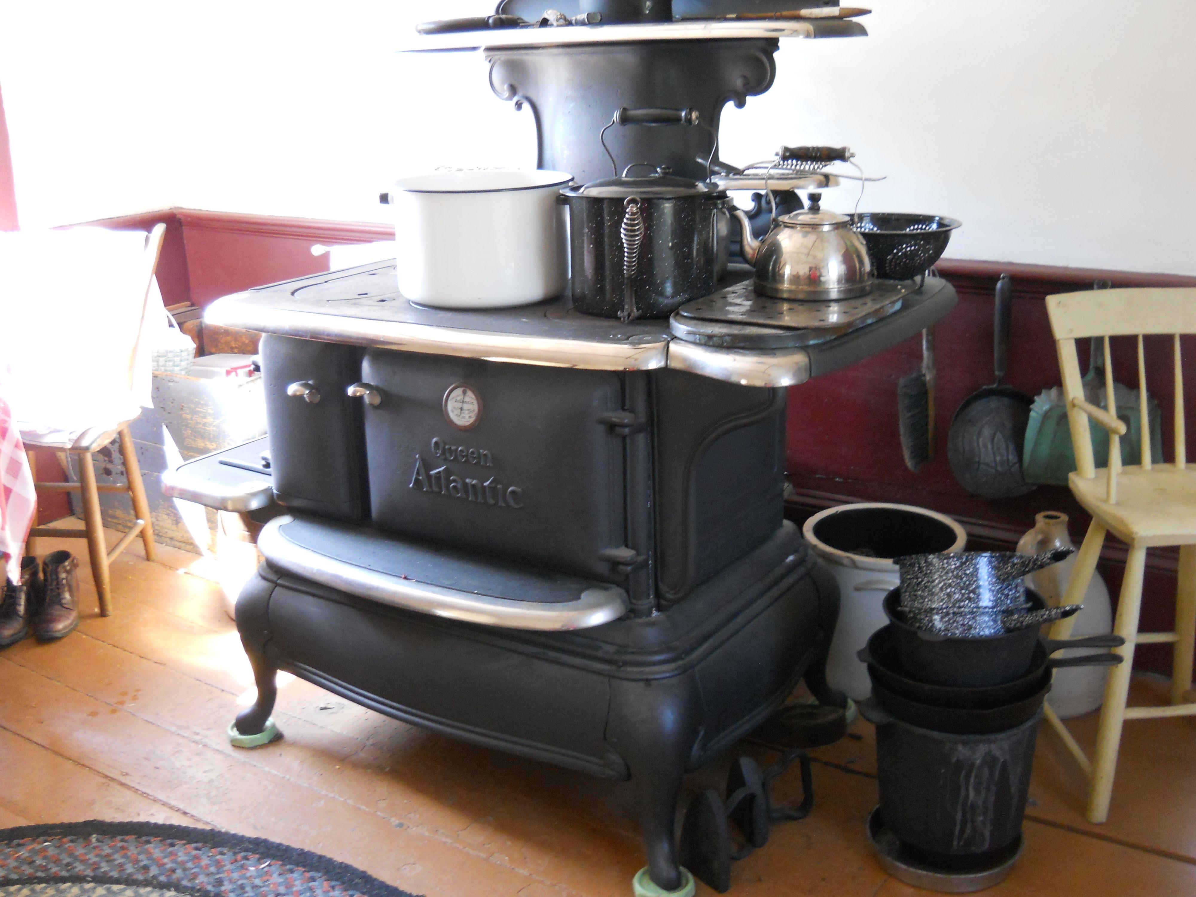queen atlantic cooking stove in olden day home s