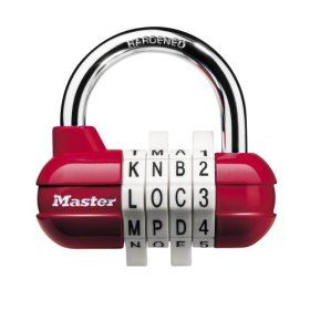 master lock 1524d word password combination lock you can now use three letter words to