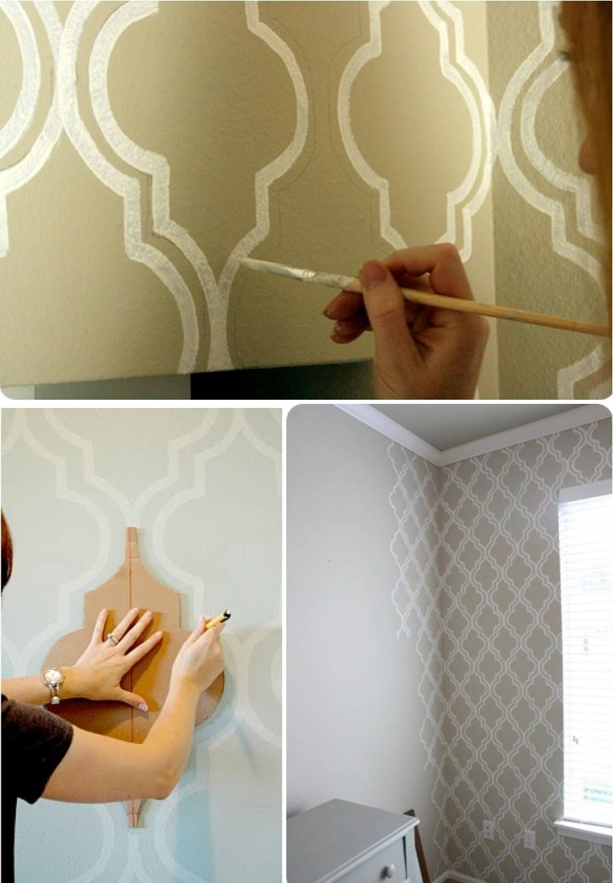 Diy Wall Art Painting Ideas 08 Wall Paint Patterns Wall