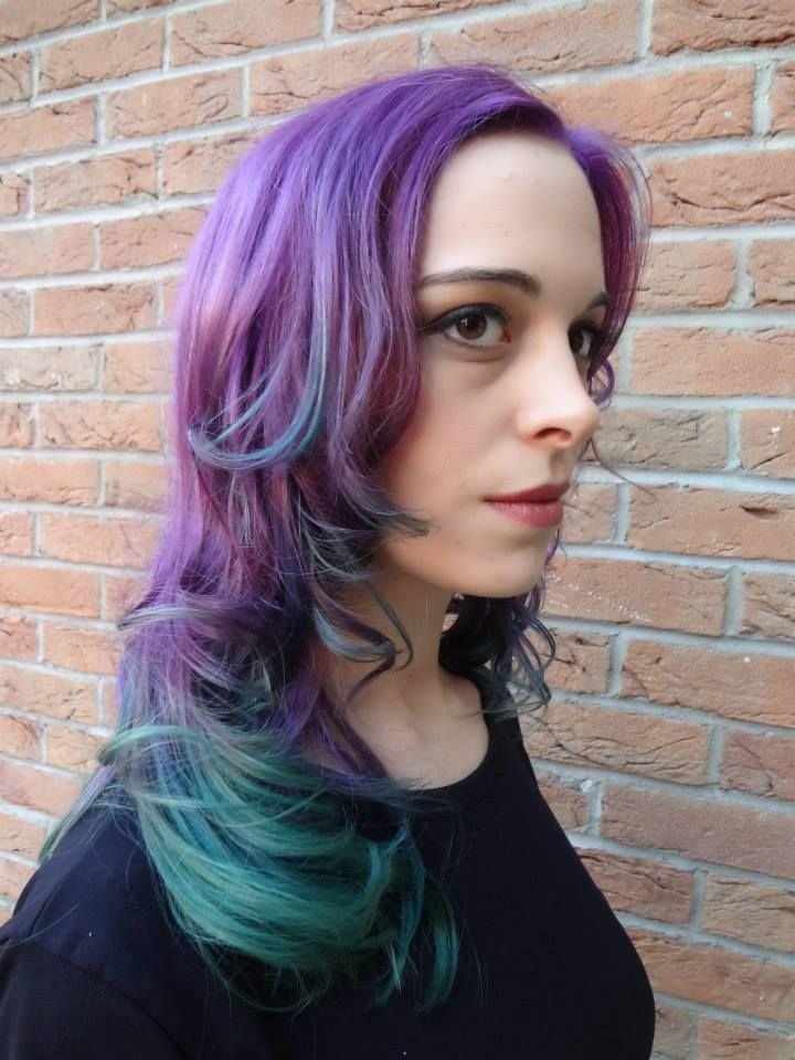 lila ombre hair dye haare pinterest ombre dyes and hair dye. Black Bedroom Furniture Sets. Home Design Ideas