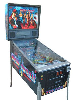 Who Dunnit Pinball Machine For Sale #pinball #pinballmachine ...