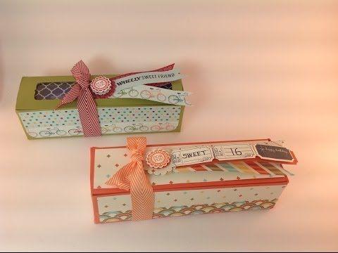 Stampin'Up Birthday Treat Box