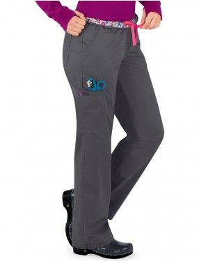 KOI Womens Petite Stretch Krysta Easy-Fit Mid-Rise Waist Pants