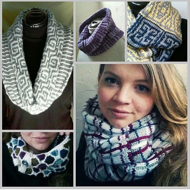 Designer: @jaclyndesigns Thick cozy and unique handknit infinity scarves and cowls in my Etsy shop. All original designs!  #handknit #scarves #scarf #cowl #fashion #style #winter #etsy #originaldesign #designer #nwd_knitting #nwd_scarf