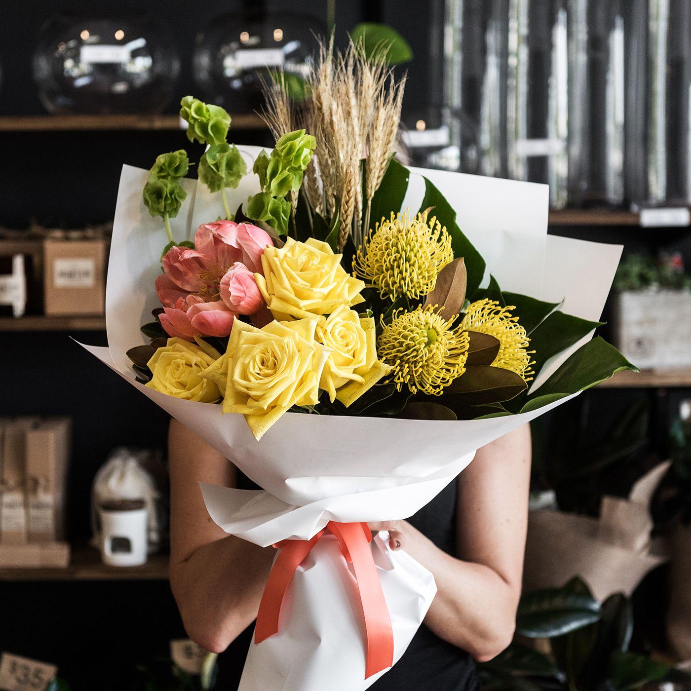 You Had Me At Hay Bouquet Flower Market Bouquet Arrangements Flowers