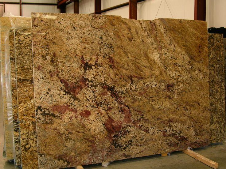 Juparana Granite Seems To Be Defined As Large Viened Stone Kuchen Granitarbeitsplatten Und Granit
