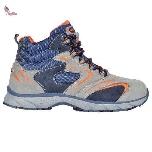 Cofra New Fitness S3 SRC Paire de Chaussures de sécurité Taille 46 Gris - Chaussures  cofra
