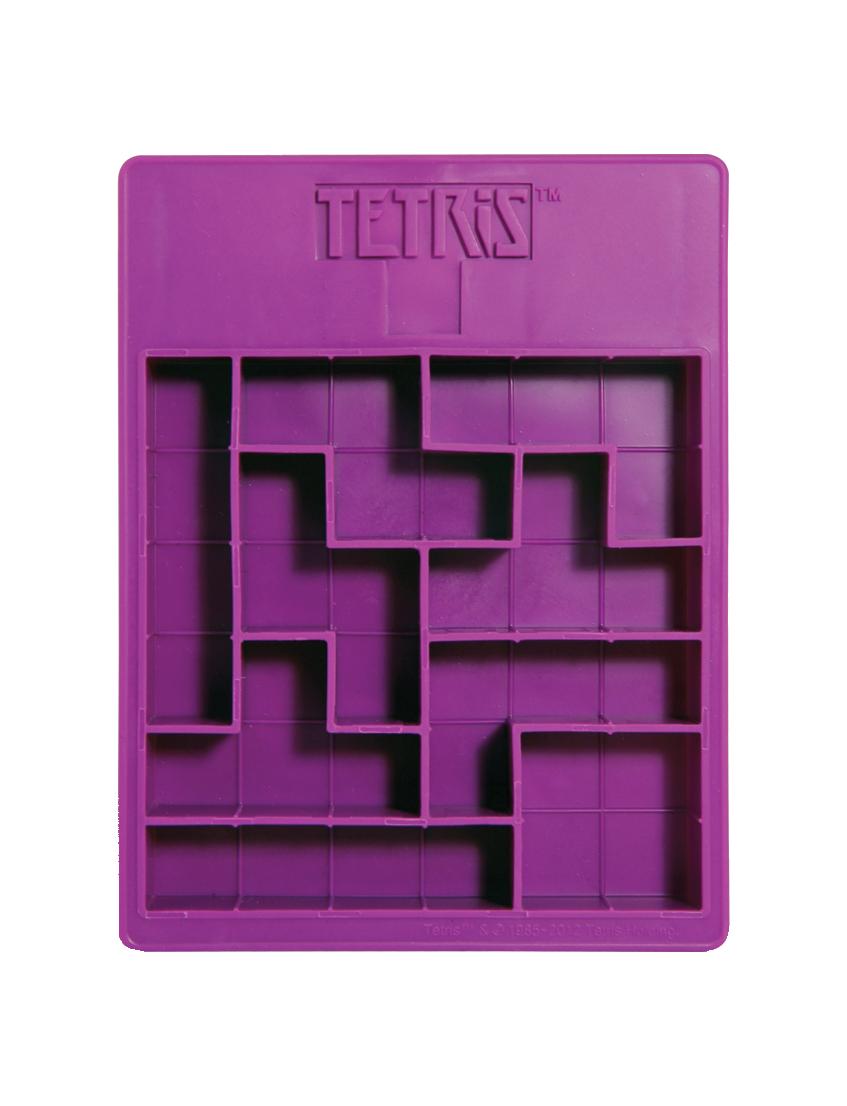 Forma de Gelo e Chocolate Tetris