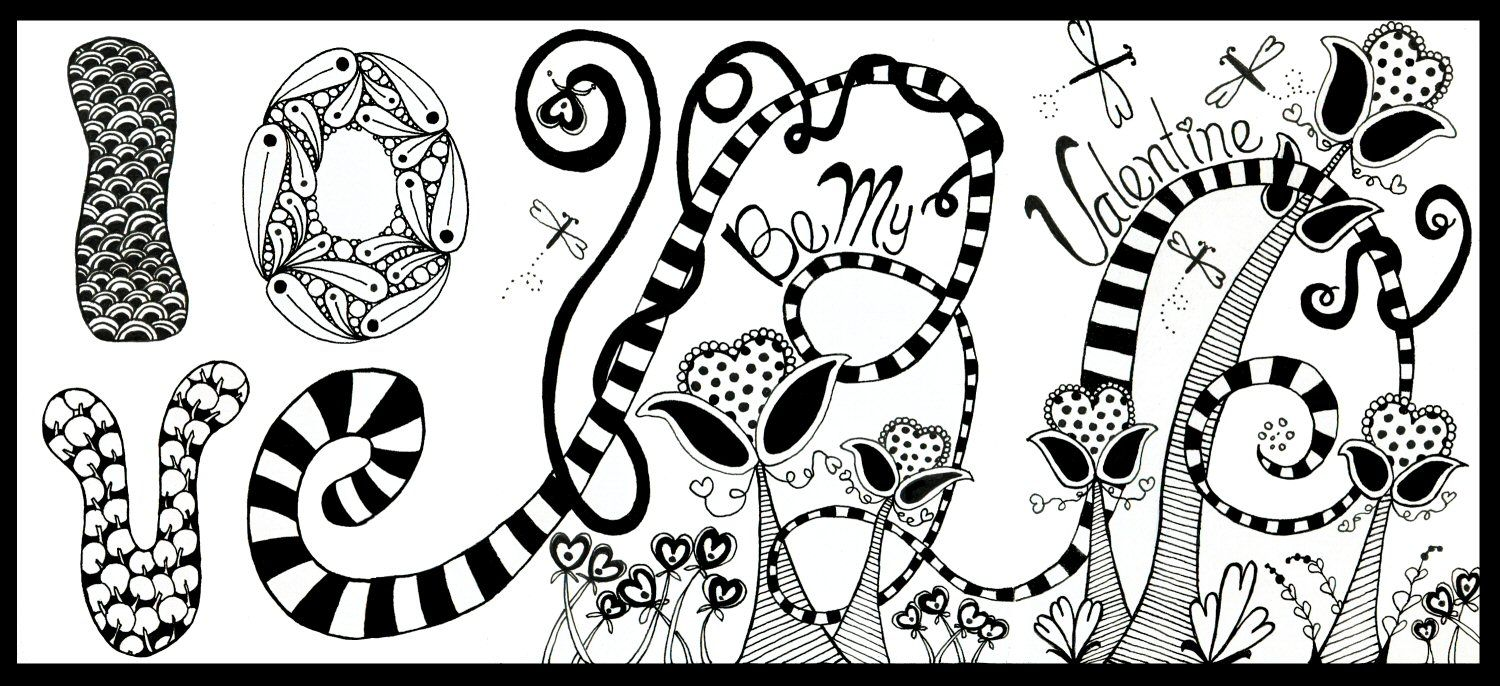 Childrens hospital coloring book - Fantasy Garden By Penny Raile Made For Children S Hospital In 2010 For Valentine S Day Www