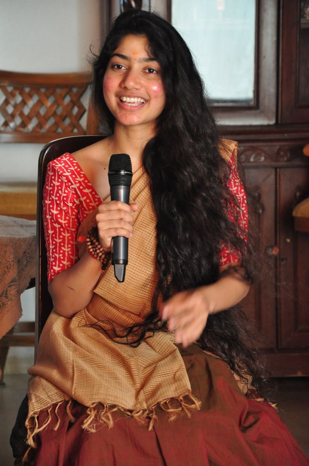 Actress Sai Pallavi Stills Fida Movie Opening Telugufilmnagar 6