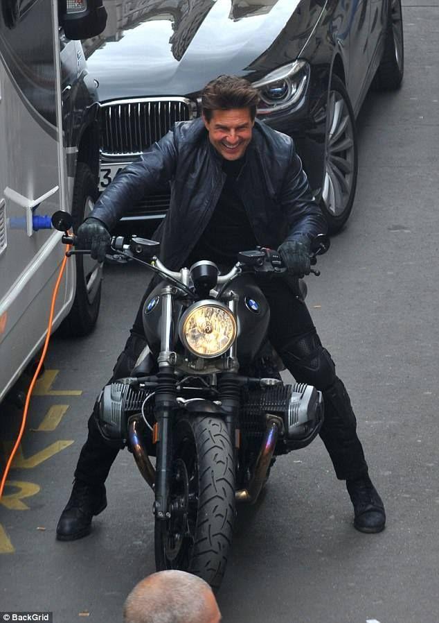 Tom Cruise BMW Motorcycle MI V 2017