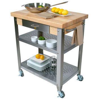 John Boos - Kitchen Carts - Butcher Block | Kitchensource.com ...