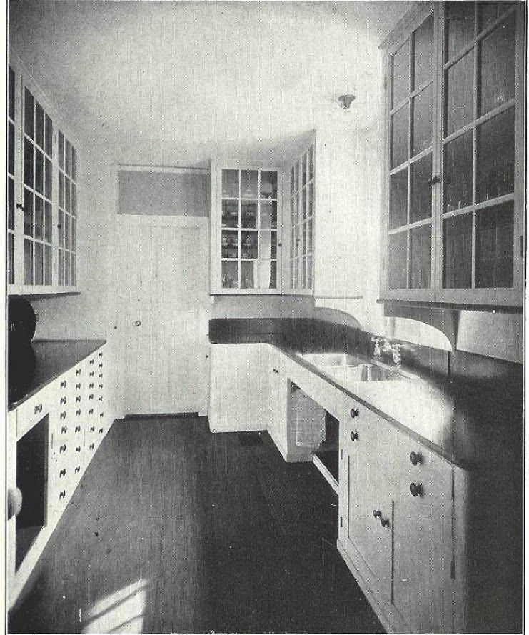 My Galley Kitchen Reno: Butler's Pantry / Original Kitchen Cabinets 1920s Kitchen