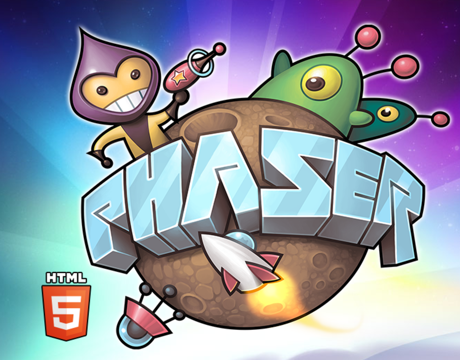 Phaser Game development, Game logo, Game engine