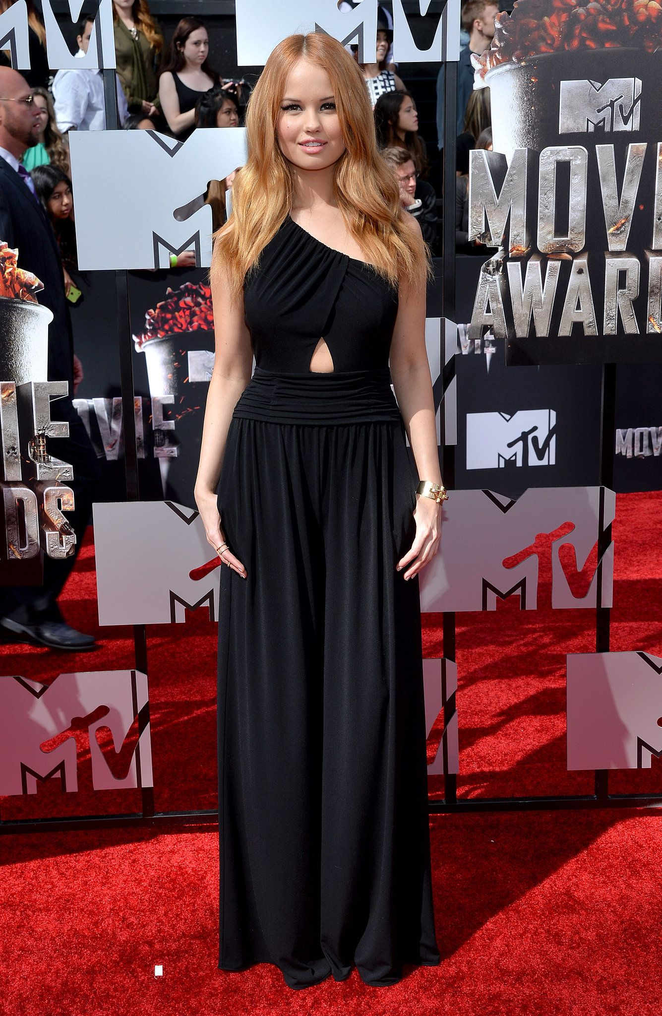 Debby Ryan at the 2014 MTV Movie Awards Celebrity