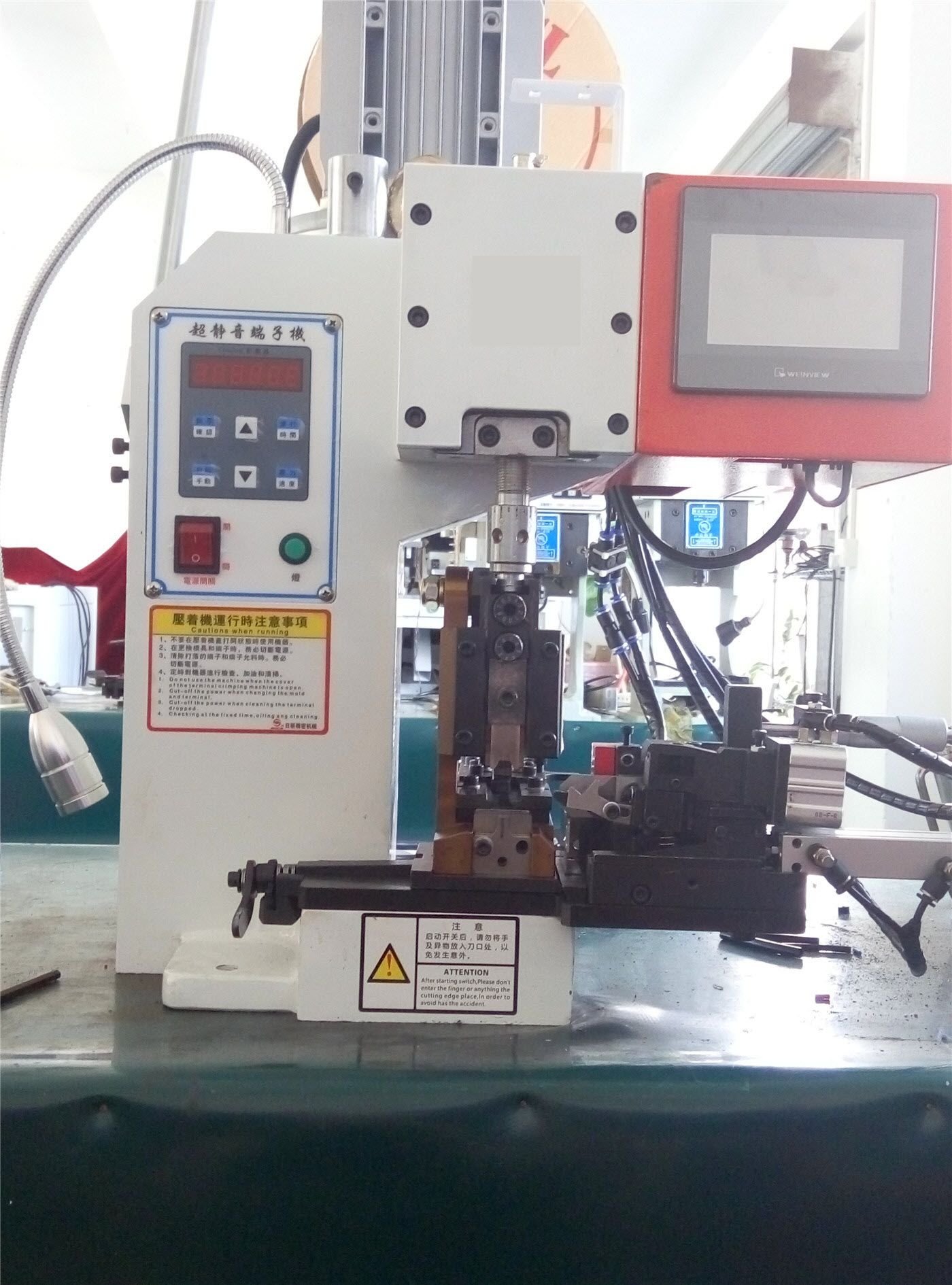 Wire and Cable Connector Crimping Machine in 2020