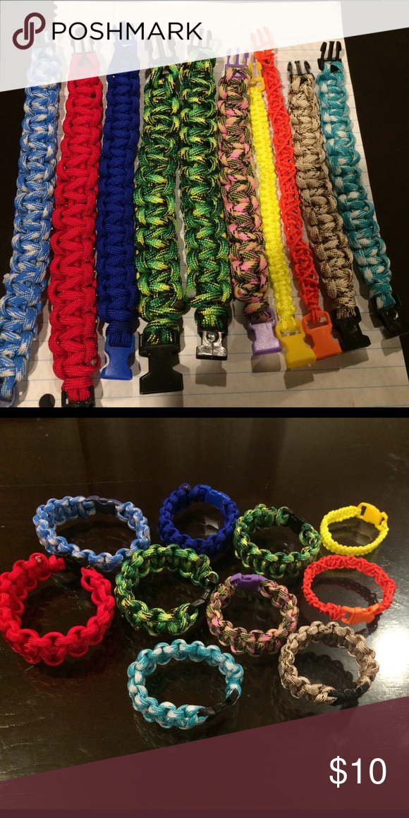 Road Warrior Bracelet You Pick A Color Let Me Know Which